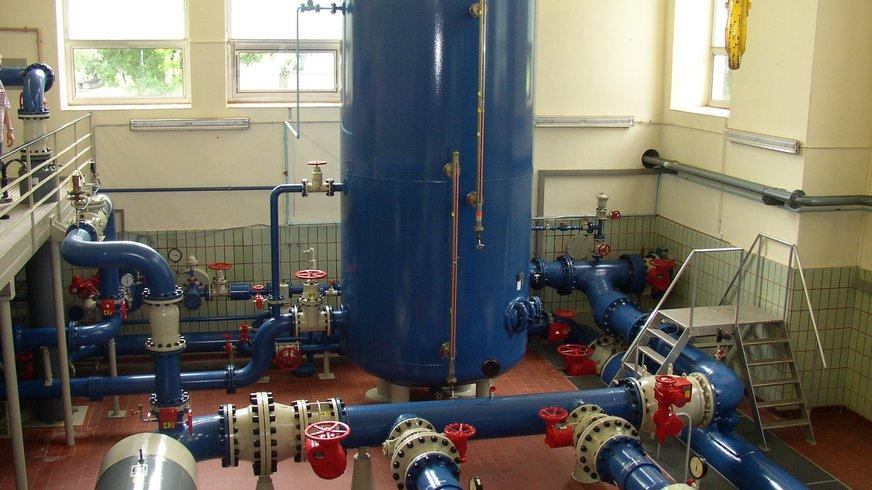 Wasserwirtschaft, Betrieb