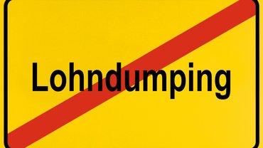 Lohndumping Niedriglohn